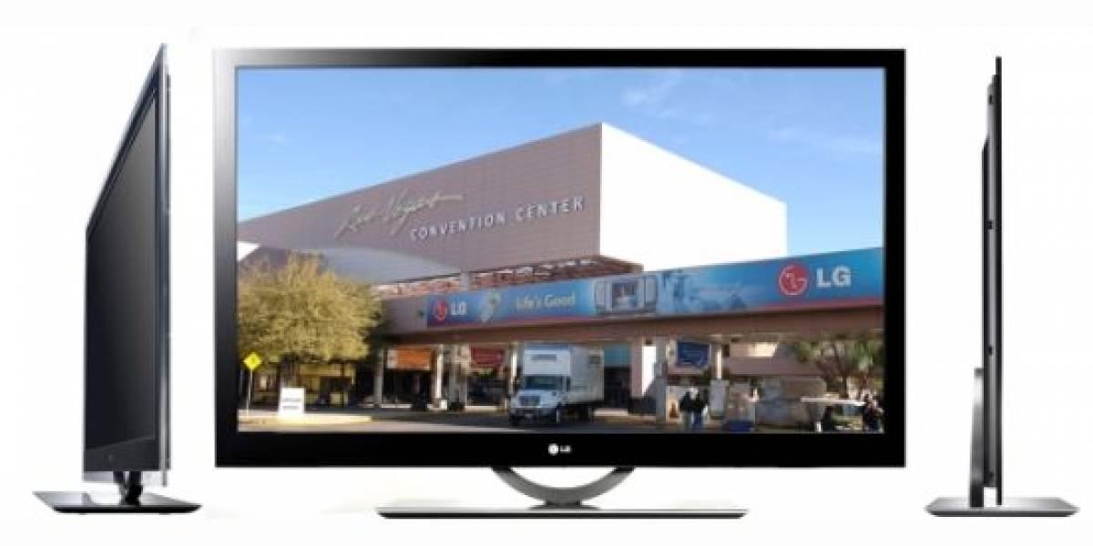 LG presentará en el CES el LCD TV más delgado del mundo