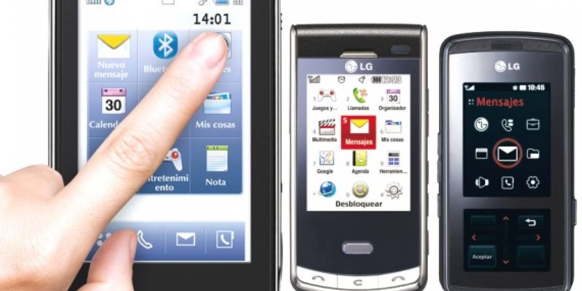 Concurso LG Touch: Gana un celular tope de línea