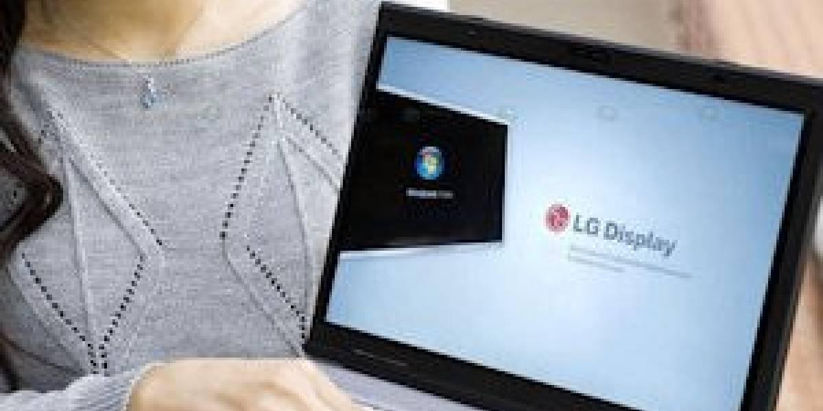 LG presentará en el CES un portátil con pantalla transflectiva