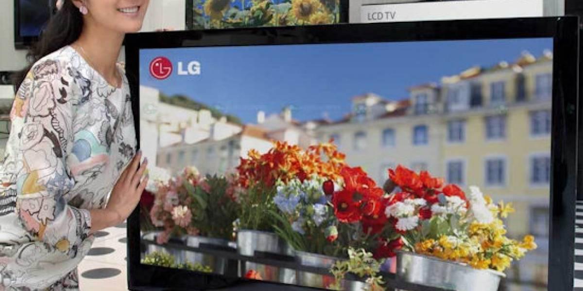 LG presenta HDTVs que ahorran hasta un 70% de energía