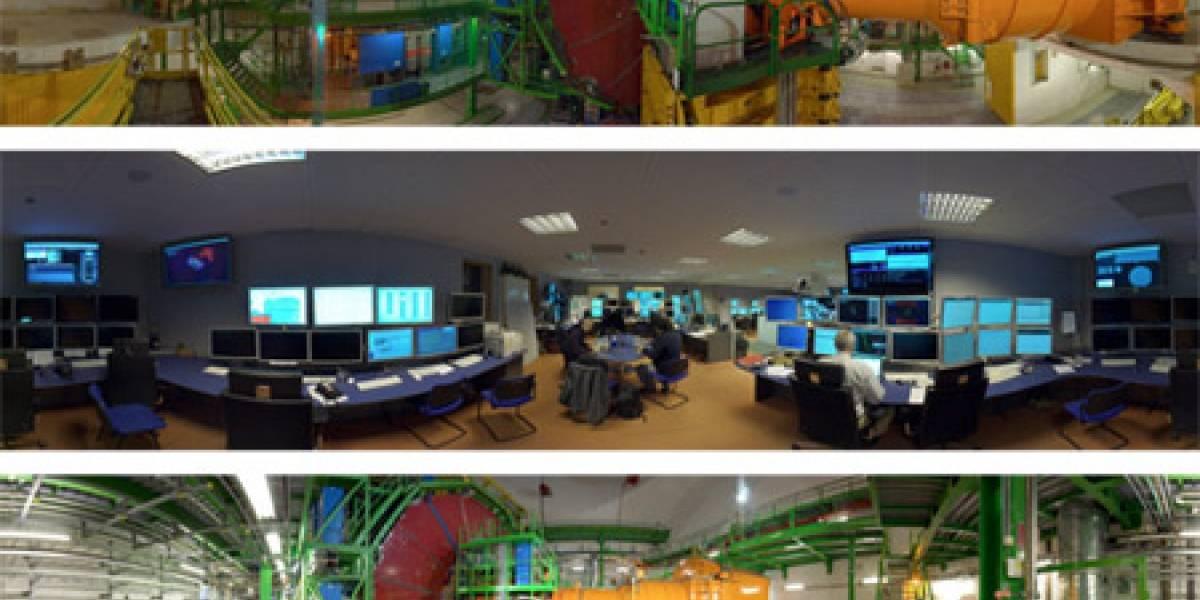 Paseo en 360º por el Gran Colisionador de Hadrones