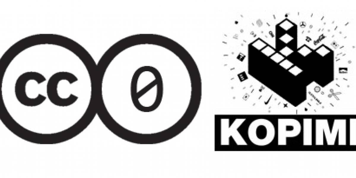 Kopimi y CC0: Licencias sin restricciones copyright
