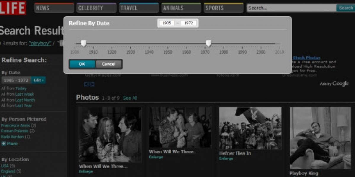 Life.com: 7 millones de fotografías en línea desde 1850