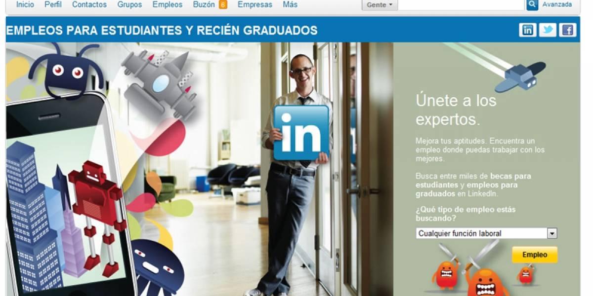 LinkedIn quiere ayudarte a buscar tu primer empleo