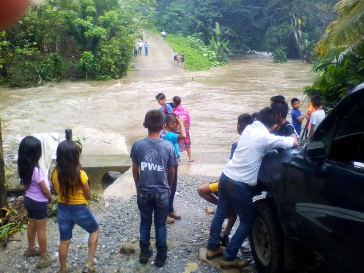 lluvias en Puerto Barrios, Izabal