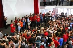 Lula no Sindicato dos Metalúrgicos do ABC