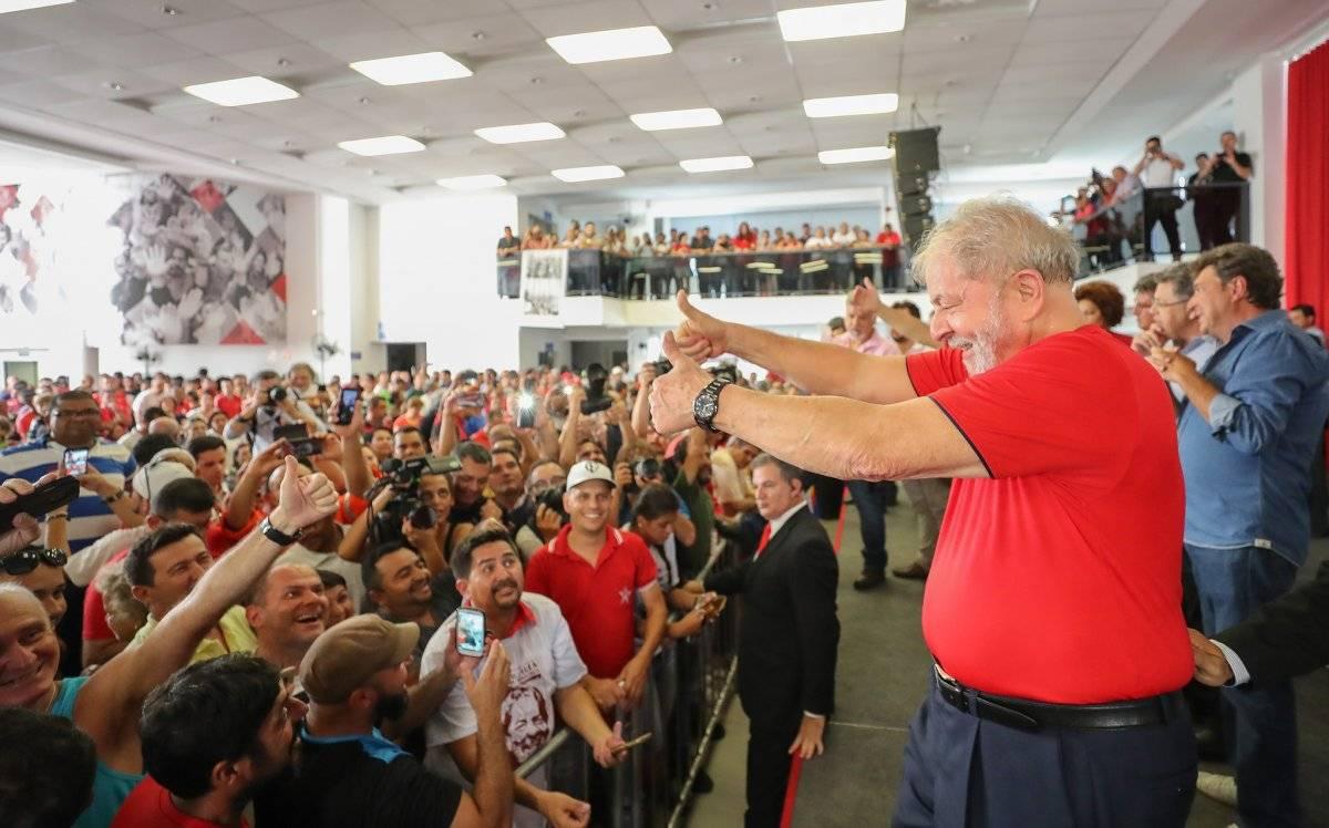 Lula no Sindicato dos Metalúrgicos do ABC Ricardo Stuckert