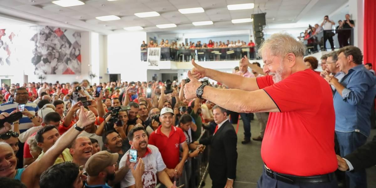 Lula deve participar de ato em São Bernardo ainda nesta noite