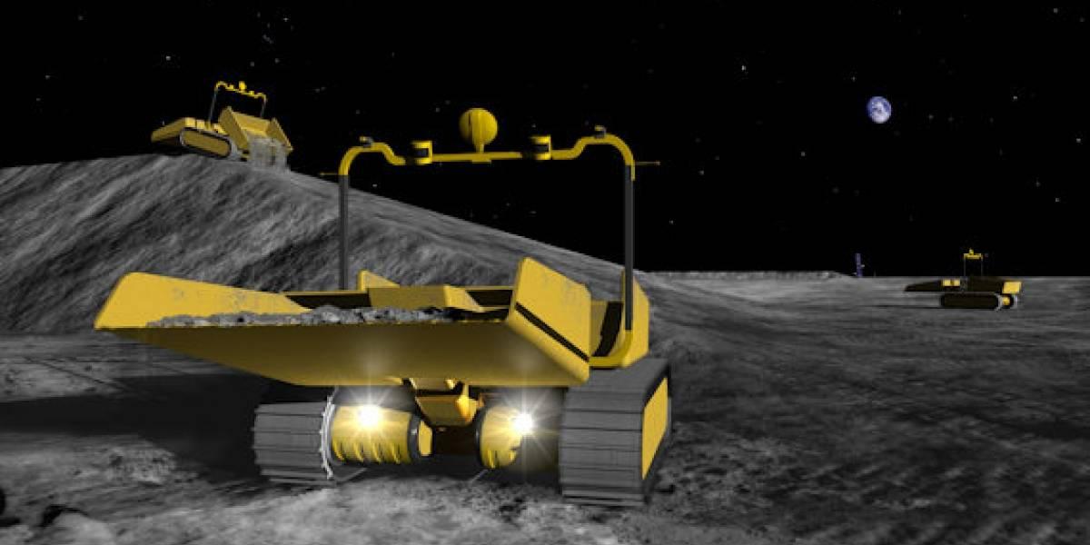 La NASA planearía una base lunar para el 2020