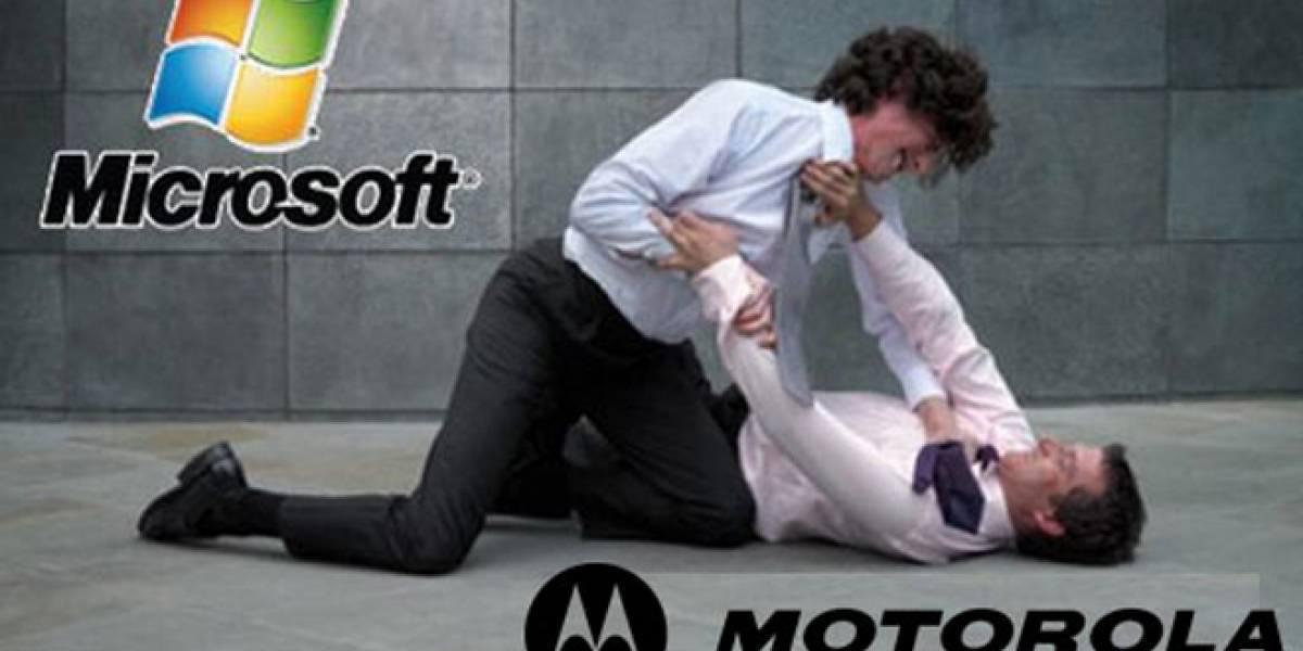 Motorola quiere recibir dinero de Windows 7 y consolas Xbox 360 por patentes