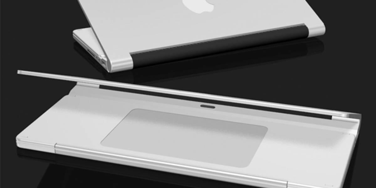 MacBook Mini: Concepto plegable de una netbook Apple