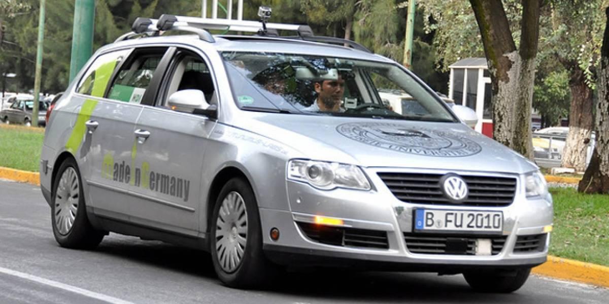 Mexicano desarrolla un automóvil autónomo