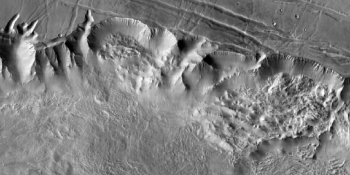 La NASA publica el mejor mapa de la superficie de Marte