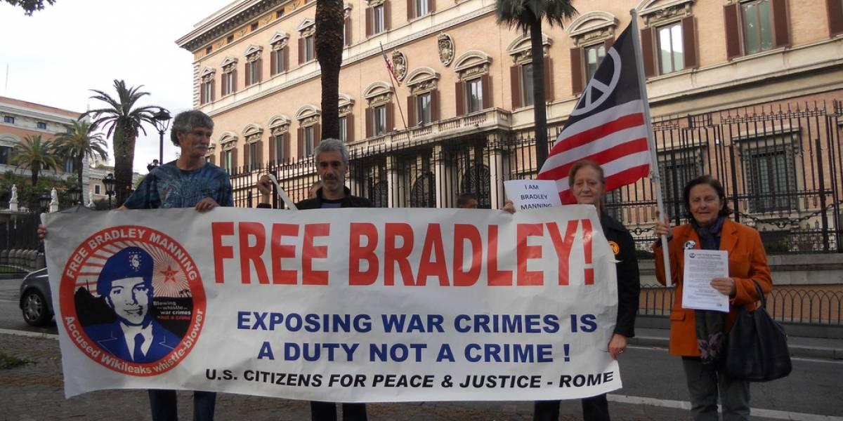 Bradley Manning no es culpable de ayudar al enemigo, dice la justicia