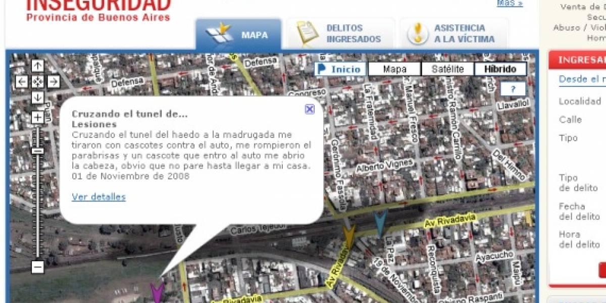 Un mapa de la inseguridad, versión 2.0