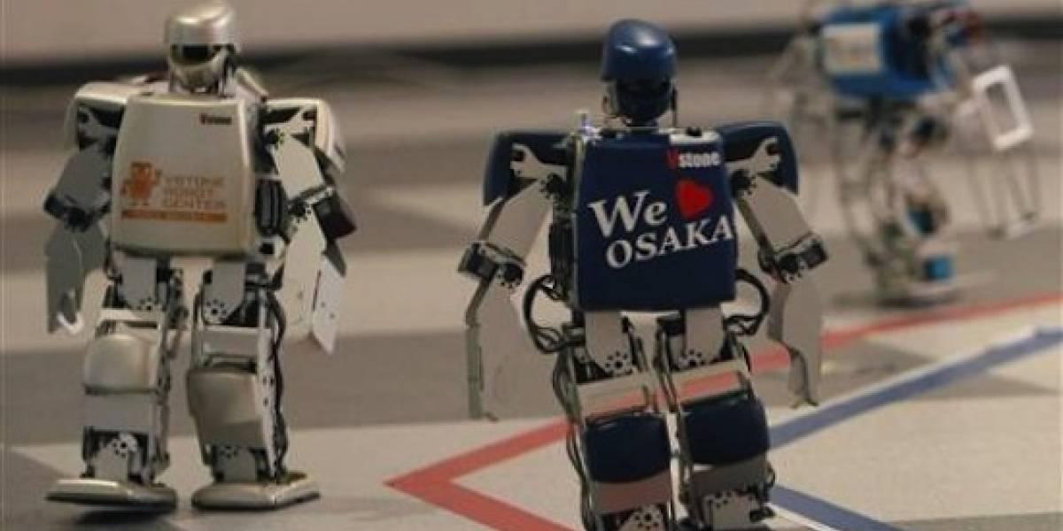 Mientras tanto, en Japón... ya está en curso la primera maratón de robots