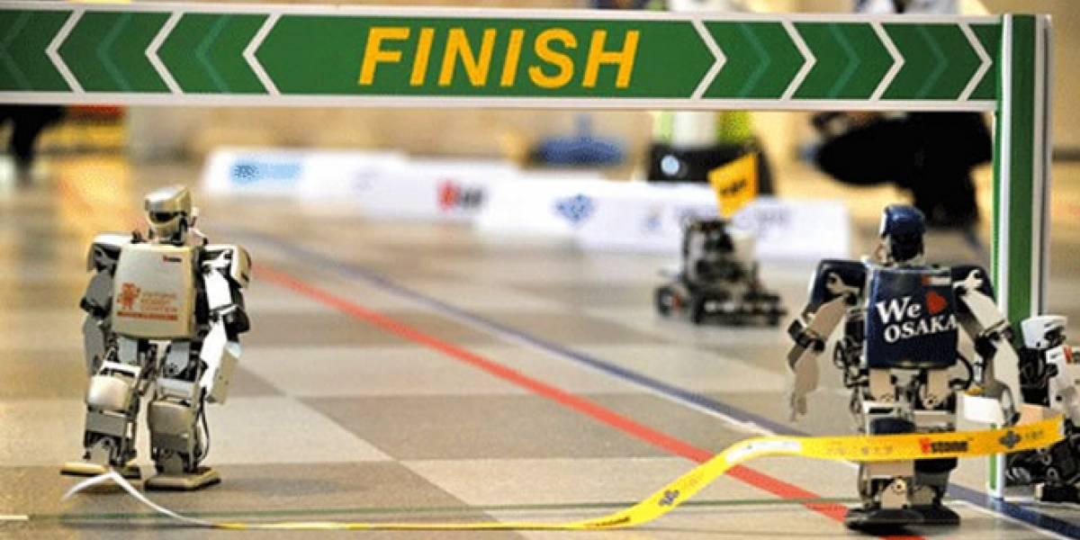 Video: Primera maratón de robots tuvo final fotográfico (tras 55 horas de carrera)