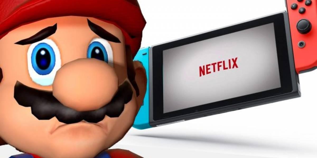A Netflix no le interesa tener una app para Nintendo Switch