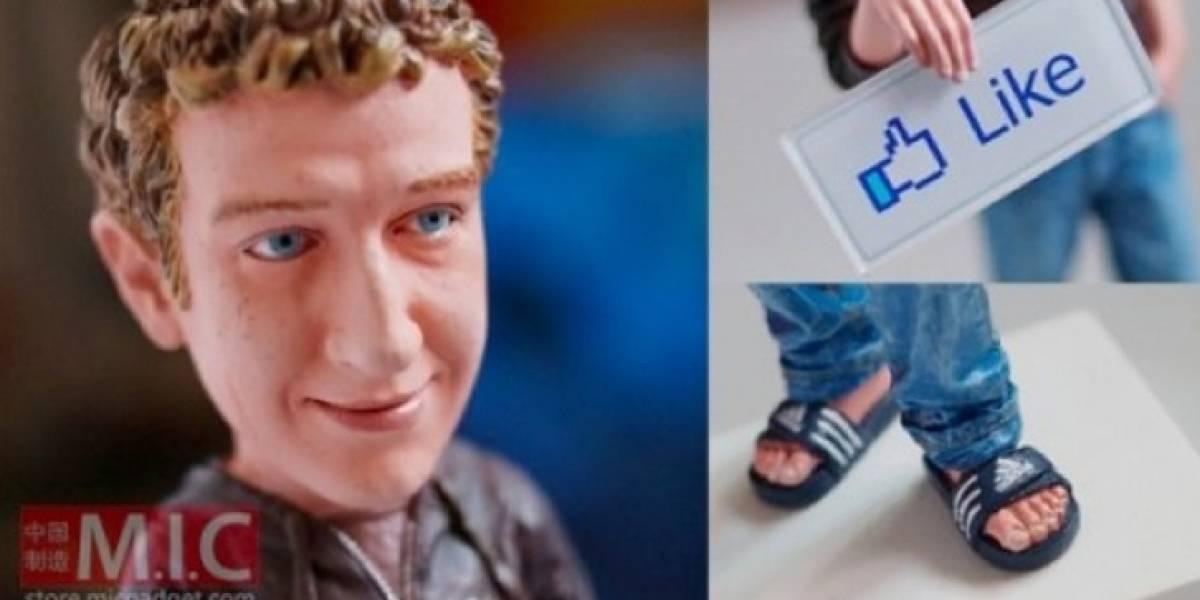 Abogados de Facebook frenan venta de figura de Mark Zuckerberg
