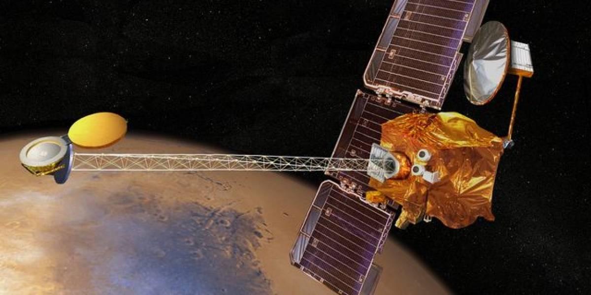 Mars Odyssey Orbiter cumple 10 años de su odisea en el espacio