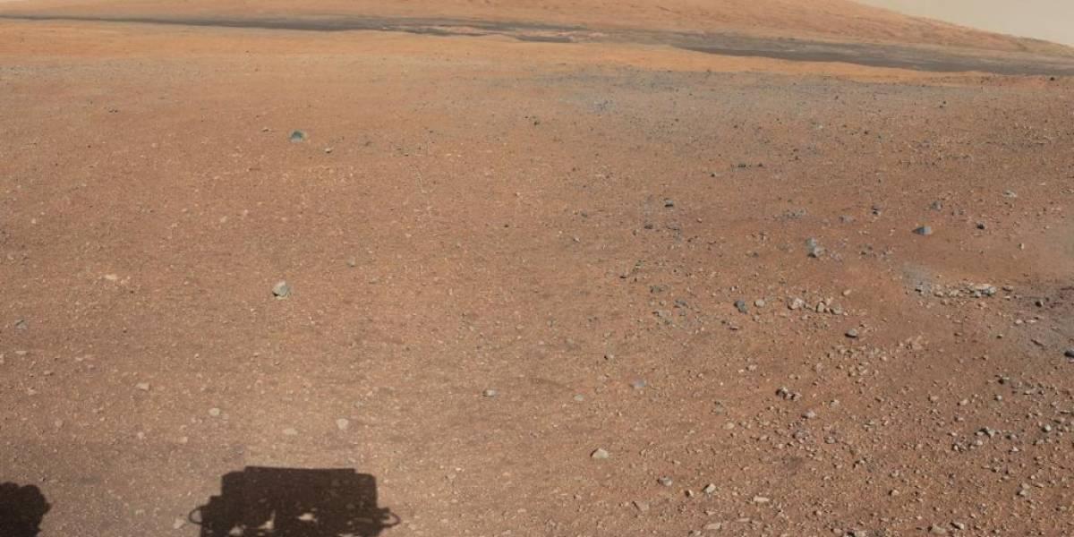 Curiosity revela que Marte tuvo una atmósfera, pero la perdió