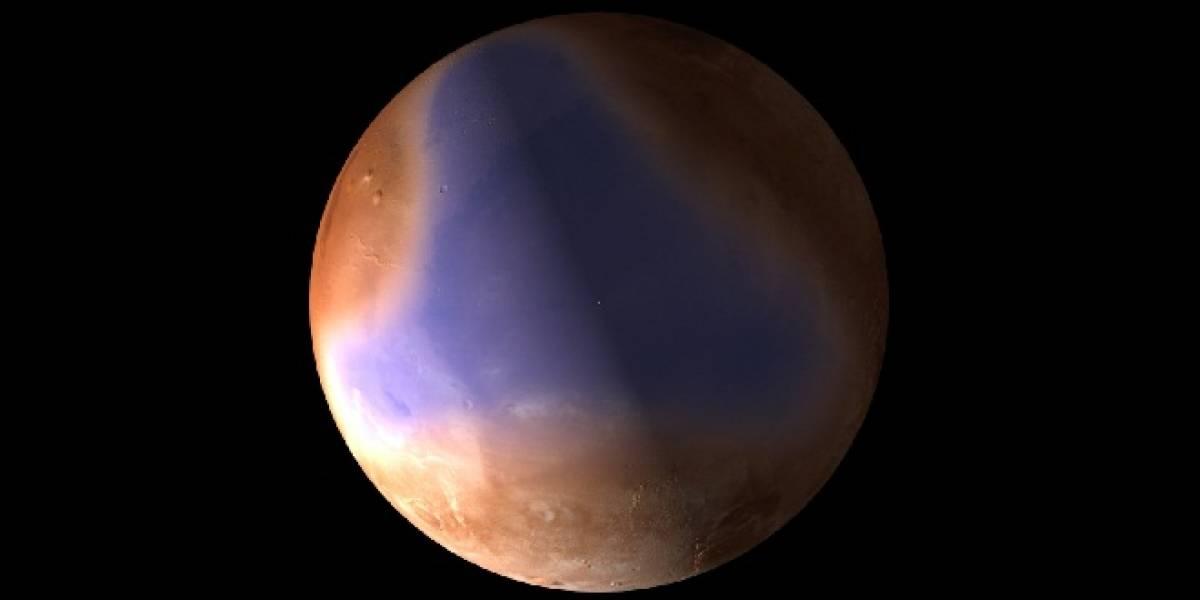 Así habría sido el océano que tuvo Marte