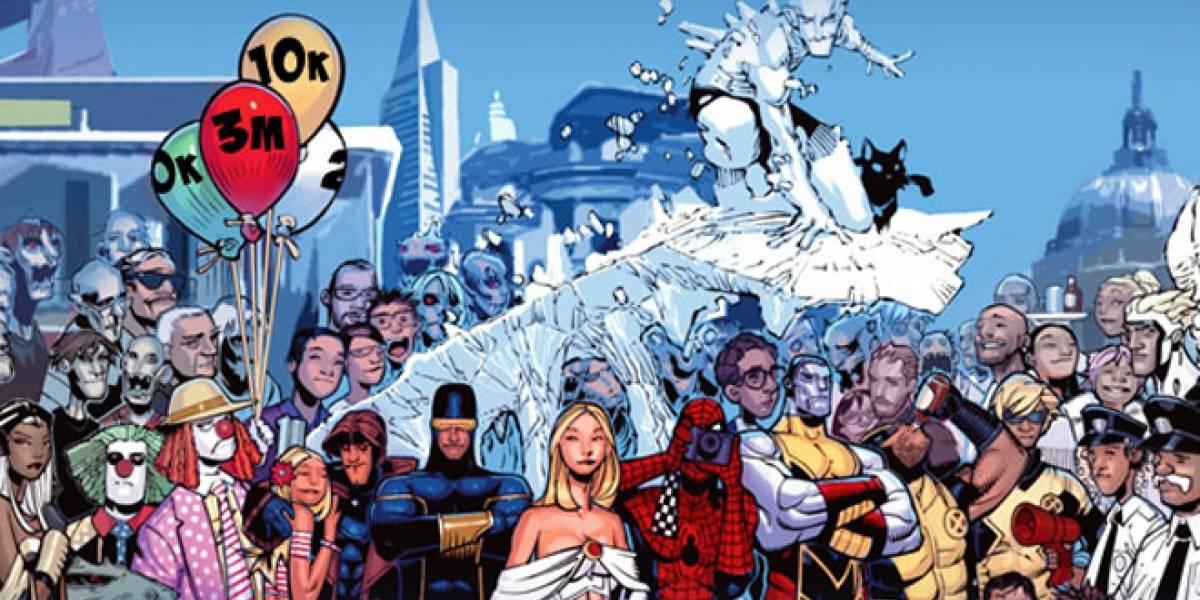 Marvel Comics celebra éxito en Facebook con oferta