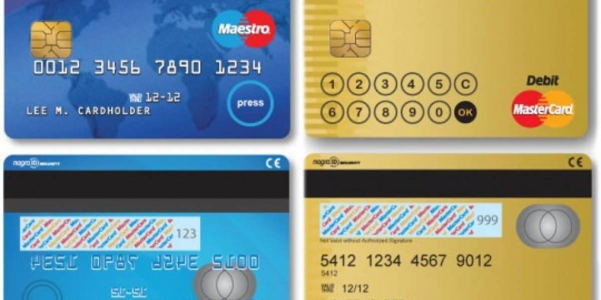 Mastercard probará tarjetas de crédito inteligentes con pantalla LCD y keypad