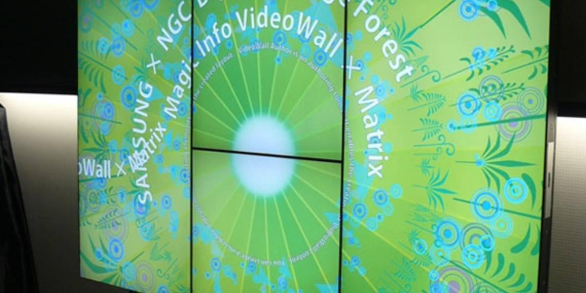 Matrix: Sistema que permite combinar varias pantallas LCD en una sola imagen