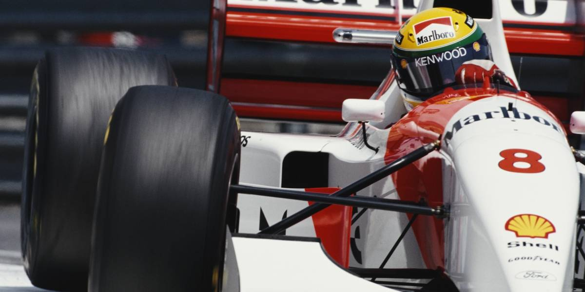 McLaren da última vitória de Senna no GP de Mônaco será leiloada