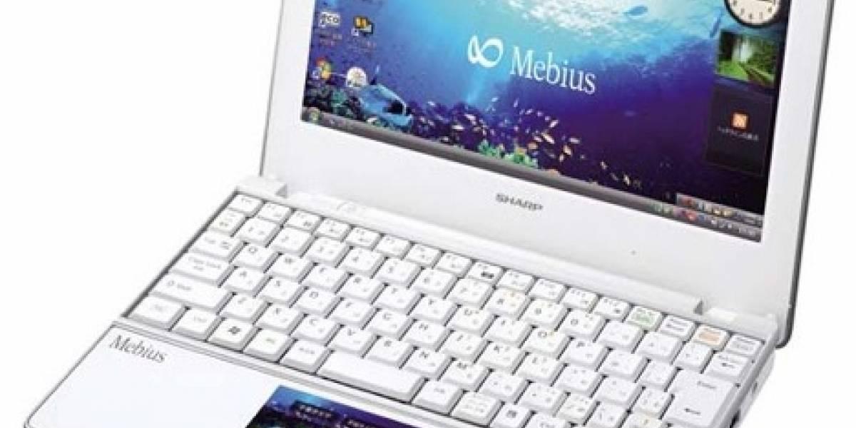 Sharp cambió el touchpad por una pantalla multitáctil
