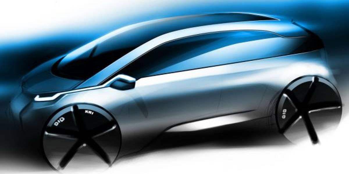 BMW muestra imagen de su primer auto eléctrico