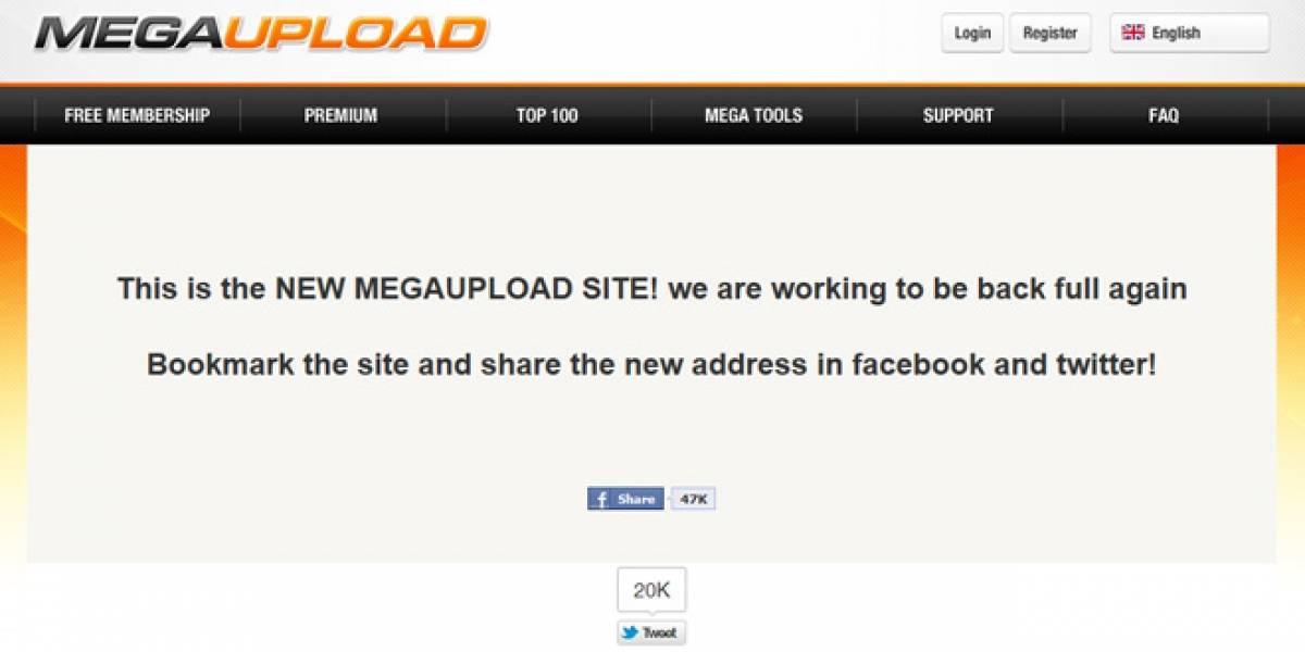 Sitios de phishing se aprovechan del cierre de Megaupload
