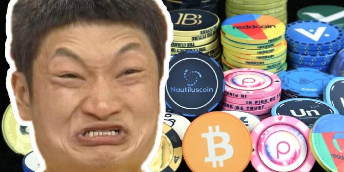 Corea del Sur quiere prohibir las criptomonedas y Bitcoin se colapsa