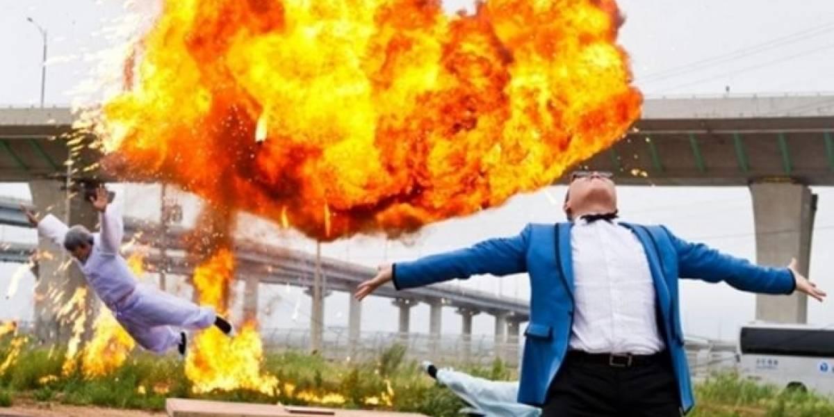 Propulsor de cohete cae del cielo en China y explota