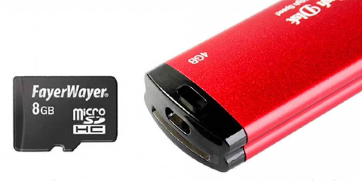 Memoria USB JT 2 en 1 con lector de tarjetas incluido