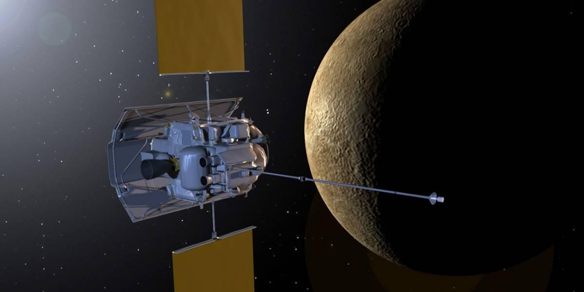 Sonda Messenger ingresó hoy a la órbita de Mercurio (Actualizado)