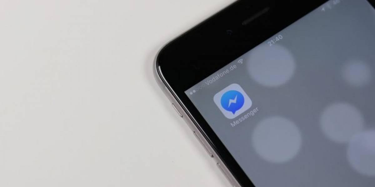 Un extraño error impidió que algunas personas usaran Facebook Messenger