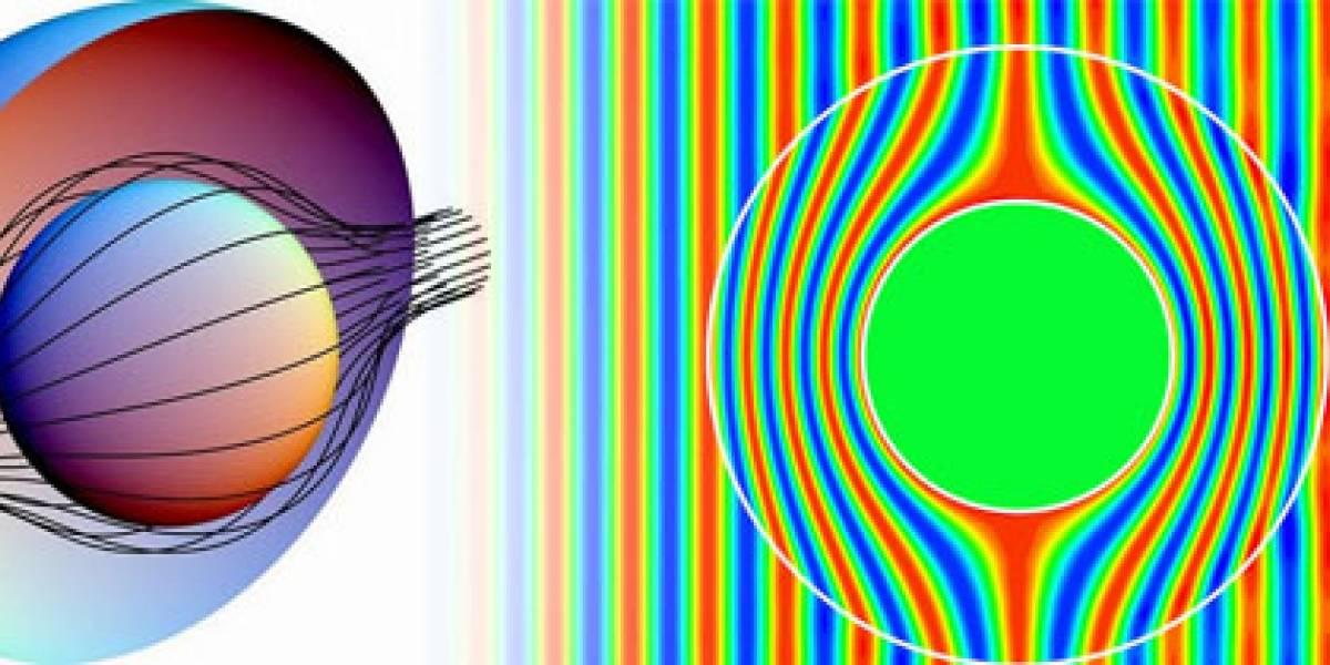 Científicos desarrollan manto de la invisibilidad hecho de pequeñas piezas de vidrio