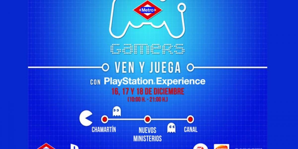 MetroGamers 2011: Los videojuegos toman el Metro de Madrid este fin de semana