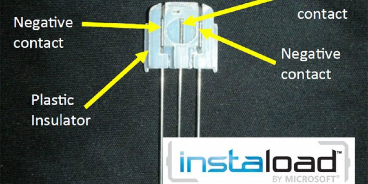 InstaLoad: Colocando las baterías en cualquier posición