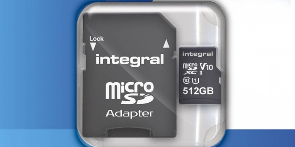 Tarjeta microSD de 512 GB será lanzada muy pronto