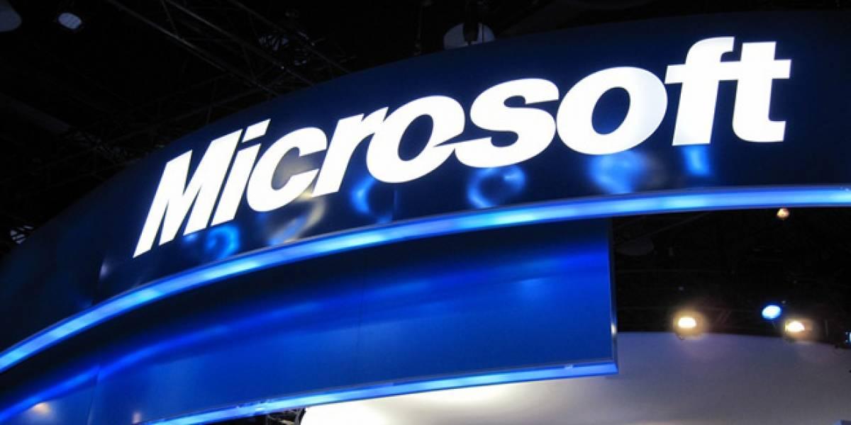 Microsoft aumentó sus ganancias un 5% en 2011
