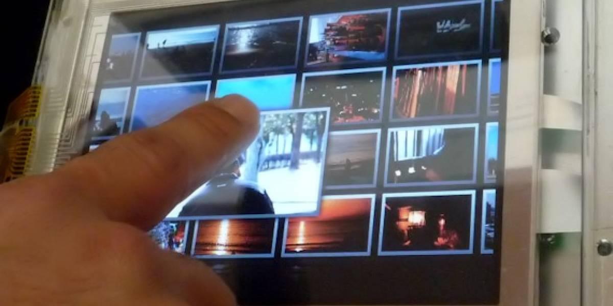 Mitsubishi tiene un prototipo de pantalla táctil tridimensional