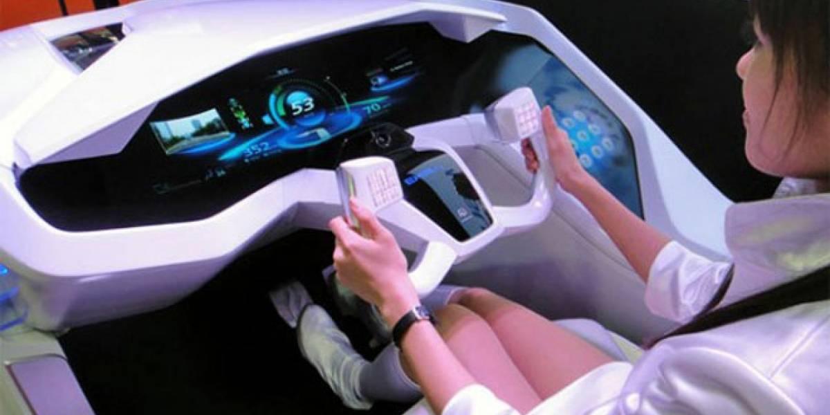 Mitsubishi muestra concepto de futura interfaz de autos