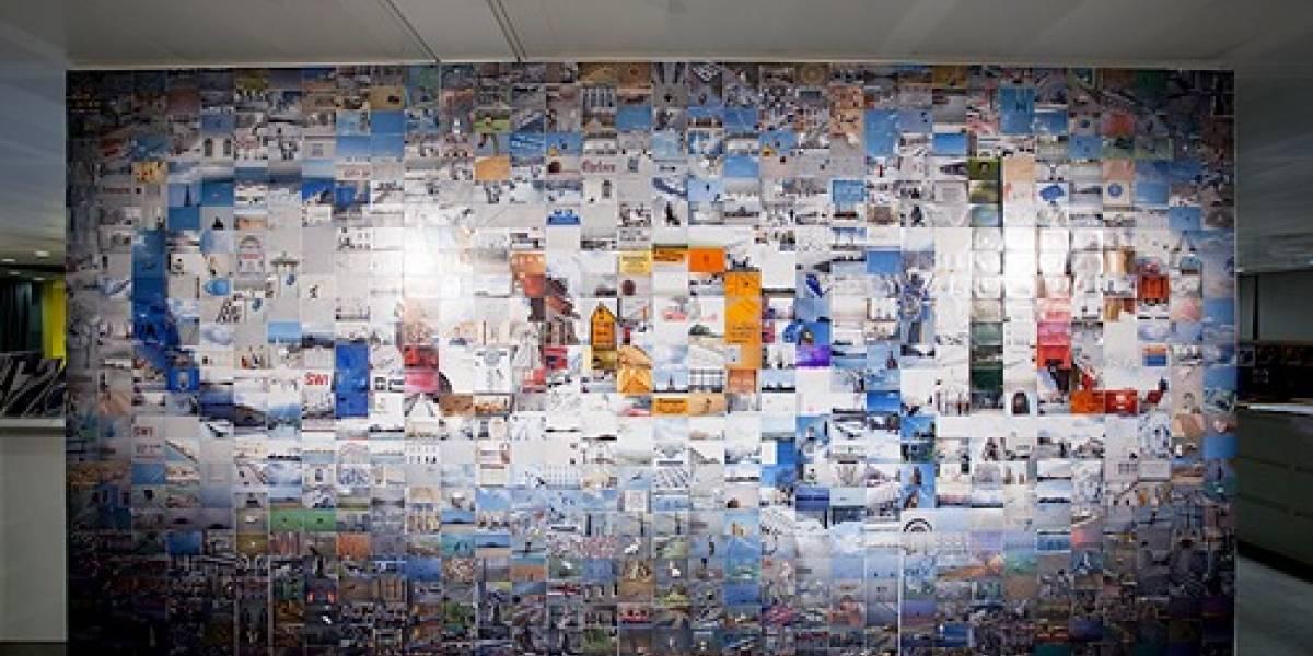 El logo de Google construido con 884 fotografías