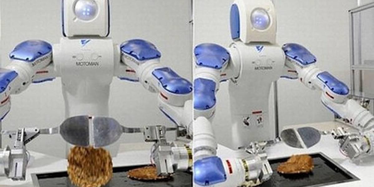 Motoman: Un robot cocinero y vendedor