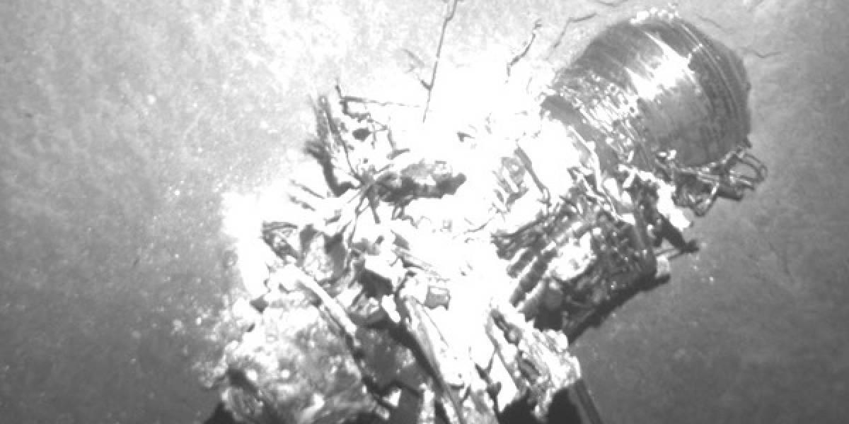 Submarinos de búsqueda del Titanic encontraron restos del Air France estrellado en el Atlántico