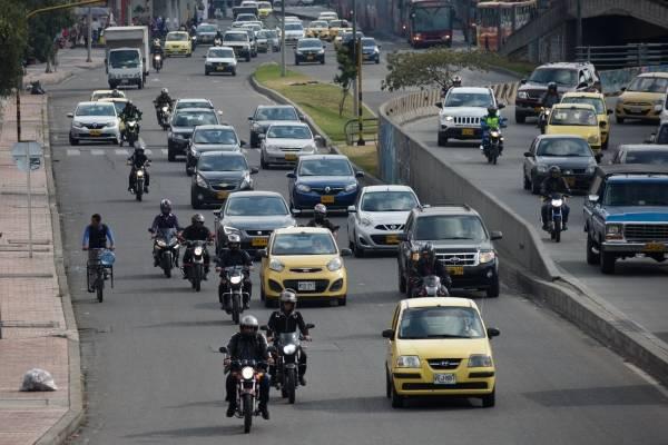impuesto vehicular en Bogotá