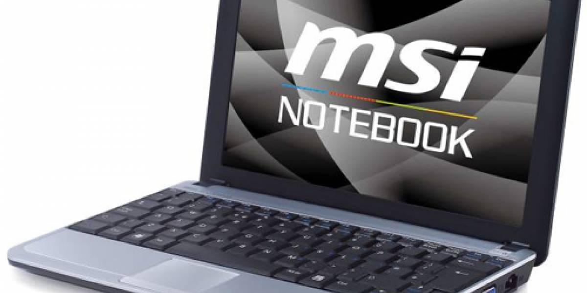 MSI Wind U115 será el primer subnotebook híbrido